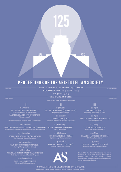 2013 Proceedings Programme
