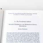 Proceedings of the Aristotelian Society | Philosophy in London Since 1880