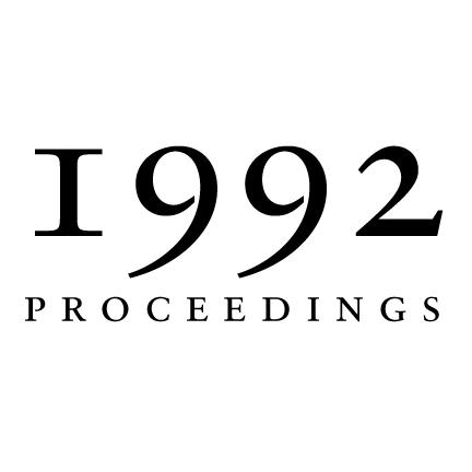 1992 Proceedings of the Aristotelian Society | Philosophy in Since 1880