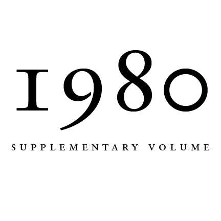 1980 Proceedings of the Aristotelian Society, Supplementary Volume | Philosophy on London Since 1880