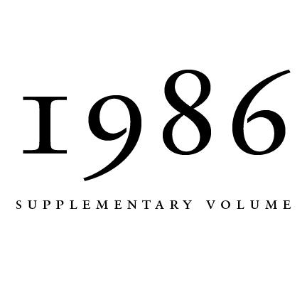 1986 Proceedings of the Aristotelian Society, Supplementary Volume | Philosophy on London Since 1880