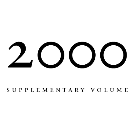2000 Proceedings of the Aristotelian Society, Supplementary Volume | Philosophy on London Since 1880