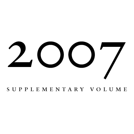 2007 Proceedings of the Aristotelian Society, Supplementary Volume | Philosophy on London Since 1880