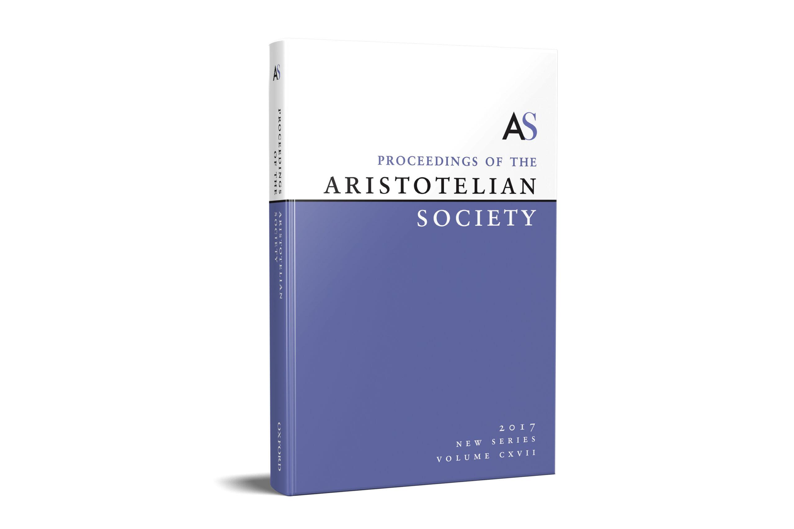 The Proceedings of the Aristotelian Society